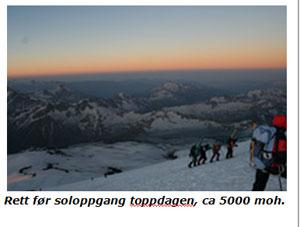 Elbrus 1. Foto: Anna Kirsten Hellevang